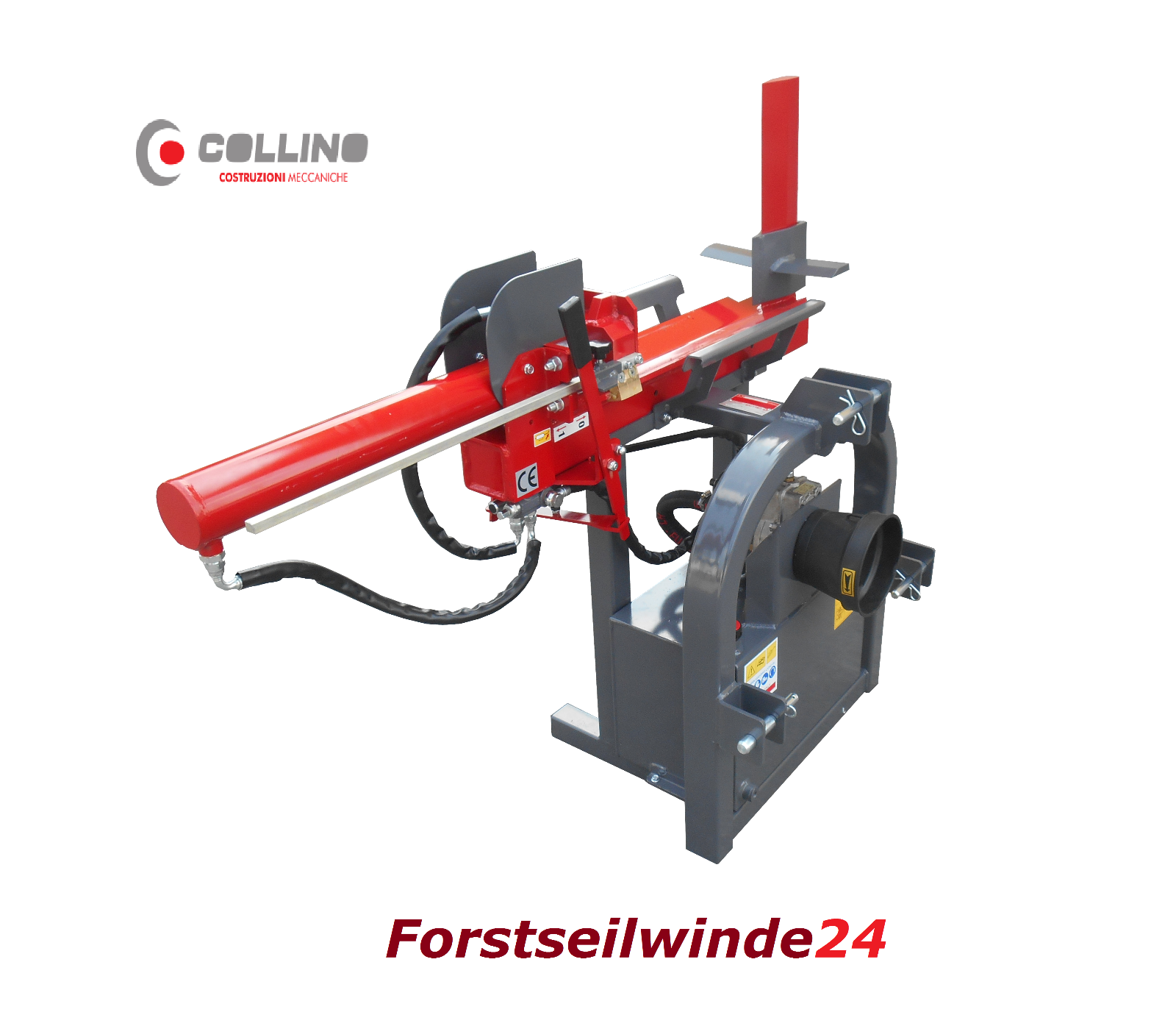 Holzspalter Collino Speedy 15 t Profi Holzspalter liegend - Made in Italy -