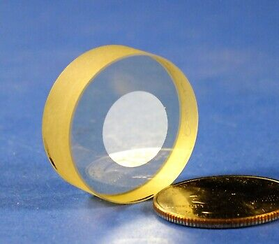 Zerodur Optical Flat Mirror 1 Dia. Visible Alum Reflectorios Optics Over-run