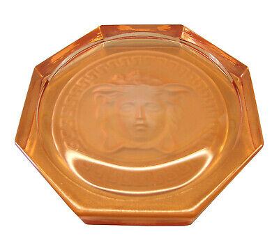 Rosenthal Versace Medusa Glasuntersetzer Ø 10,5cm, II.Wahl in rosé - AE 874