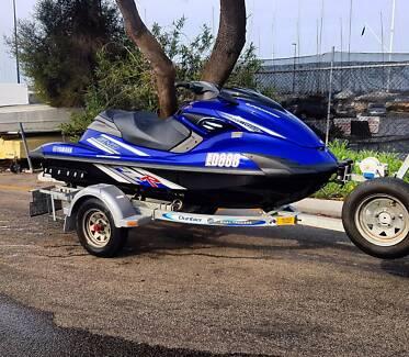 Yamaha FZR Supercharged jetski!
