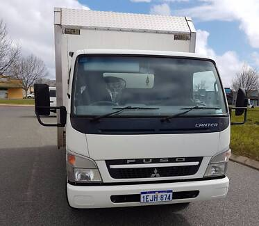 Fuso Canter delivery truck