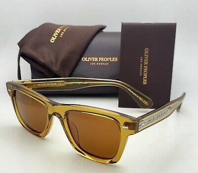 New OLIVER PEOPLES Sunglasses OLIVER SUN OV 5393SU 167153 Honey Wayfarer Frames