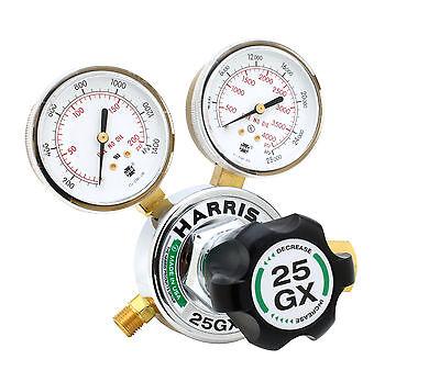 Harris 25gx Single Stage Argon Nitrogen Helium Regulator 25gx-145-580 3000540
