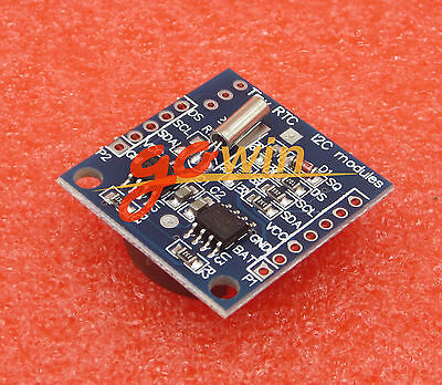 Tiny Rtc Ds1307 At24c32 Real Time Clock Module Without Battery