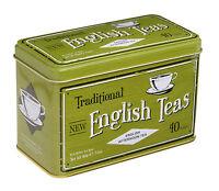 English Tè Tradizionali English Tè Del Pomeriggio 40 Bustine Tè - Latta -  - ebay.it