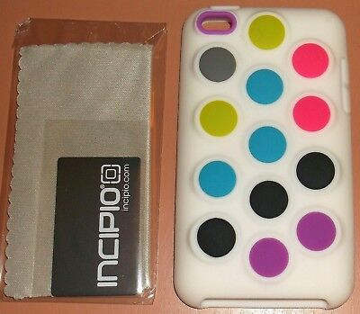 Incipio Dotties Soft silicone case iPod touch 4G with PET film screen protector Incipio Ipod Touch