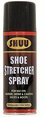 SHUU Shoe Stretcher Spray Relieves Tight Fitting Shoes Leather Softener 200ml