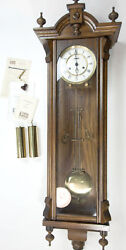 Trend Clocks by Sligh Large Wall Mount Pendulum Westminster Chime Clock