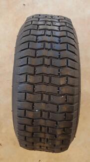 Wheel barrow tire and tube