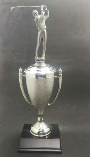 Golf silver trophy cup award .Free engraving.