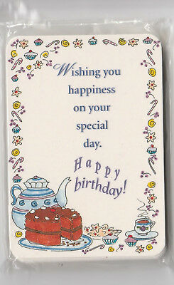 Happy Birthday Scriptures (15 Christian Prayer Cards HAPPY BIRTHDAY Bible Scripture & Inspirational)