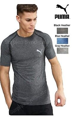 New PUMA Mens Fitness Workout Shirt-Athletic Fit -Various -