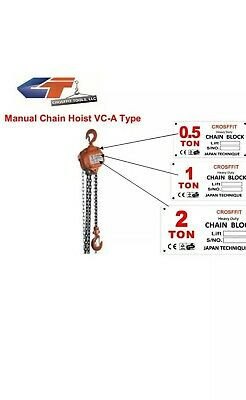 3 Ton Chain Hoist Puller Block Fall Chain Lift Hand Tools Chain With Hook