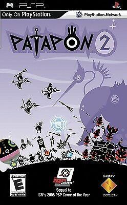 Patapon 2 (Sony PlayStation PSP) BRAND NEW - FREE SHIPPING