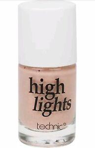 Iluminador-mejillas-Technic-Highlights-Resaltador-rostro-rosa-maquillaje-12-Ml