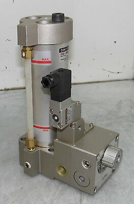 NEW SMC CC63-100S12-5D Air Hydro Unit, CH Hydraulic Cylinder, NNB, OLD STOCK