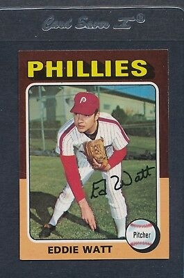 1975 Topps #374 Eddie Watt Phillies NM *4810