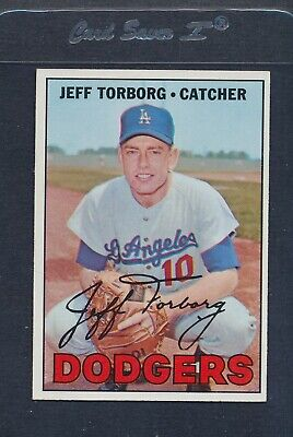 1967 Topps #398 Jeff Torborg Dodgers NM/MT *5188