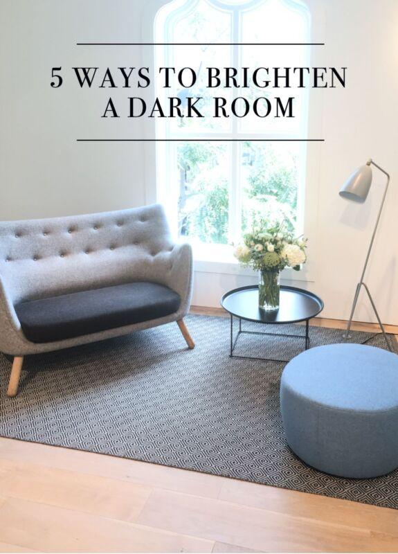 5 Ways To Brighten A Dark Room Ebay