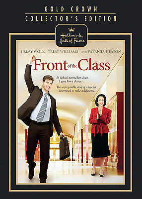 FRONT OF THE CLASS (DVD, 2009) - HALLMARK HALL OF FAME - NEW
