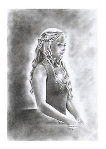 DAEYNERYS-039-Game-of-Thrones-039-by-Adriana-Tavares-original-drawing-cardstock