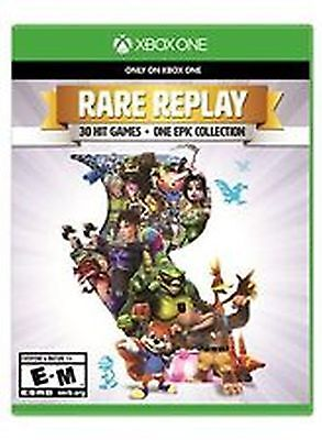 Rare Replay 30 Hit Game Collection Xbox One 1 NEW factory sealed USA Seller