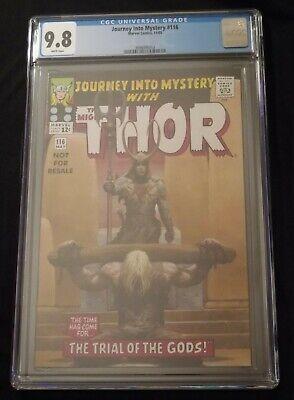RARE! CGC 9.8 (NM/M) Journey Into Mystery 116 (2005 Reprint) Thor -Marvel Comics