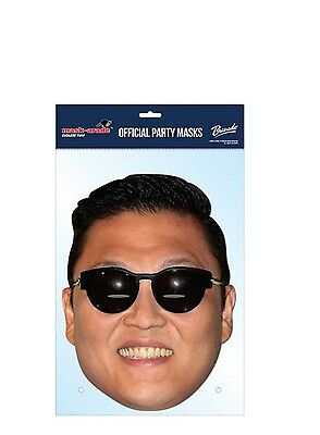 Psy Kostüme (PSY Gangnam Style Celebrity Cardboard Mask - Single)