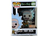 Tiny Rick with Guitar #489 Rick /& Morty Box Lunch Exclusive Funko Pop