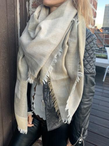 Beau  plaid cheche foulard louis vuitton  cachemire soie laine