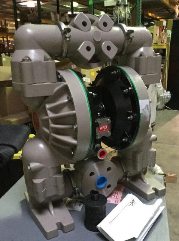 "ARO Ingersoll Rand 6661U3-344-C Double Diaphragm Pump 1/2"" FNPT 100 gpm"