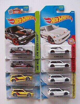 Hot Wheels '90 Honda Civic EF Choice Lot | 2 Cars per Lot