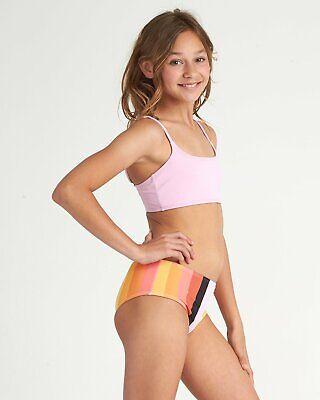 Billabong Jugendliche Mädchen Sonnenuntergang Glühend Bikini Satz Bademode Multi