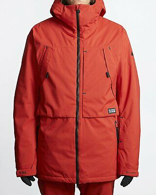 Billabong Mens Prism Shell Ski & Snowboard Jacket Magma L New