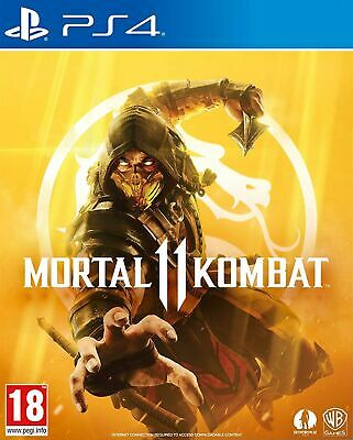 Mortal Kombat 11 (PS4) Brand New & Sealed Free UK Postage