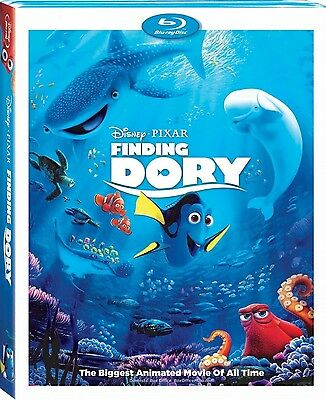 Finding Dory (2-Disc Blu-ray, and DVD)