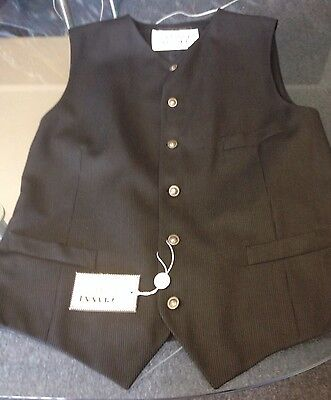 GIANNI VERSACE VEST WITH METAL MEDUSA HEAD BUTTONS MADE IN ITALY ORG $704.00