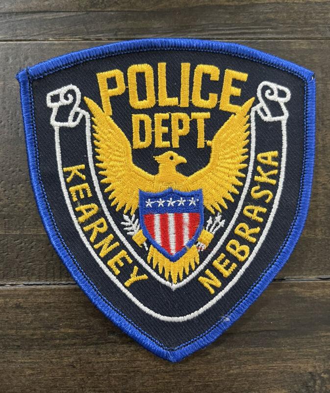 Vintage Kearney, Nebraska Police Patch, NE Patch