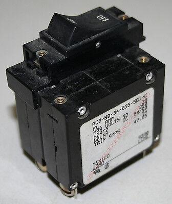 Carling AC2 Series Double Pole Circuit Breaker 35 Amp - AC2-B0-34-635-5B1-C