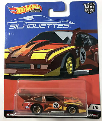 HOT WHEELS PREMIUM SILHOUETTES 76 CHEVY MONZA CAR CULTURE REAL/RIDERS METAL 1/5