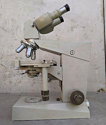 Microscope Carl Zeiss Jena Binoculars Laboratory Lab Equipment