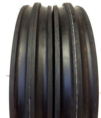 400x12400-124.00x124.00-12 Cub Farmall 3 Rib Tractor Tires With Tubes