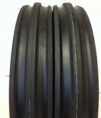 Two Front Tractor 400x12 400-12 4.00-12 Front 3 Rib Tractor Tires With Tubes