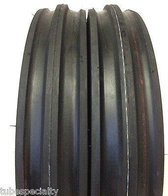 400x12400-124.00x124.00-12 Tractor Front 3 Rib Tractor Tires With Tubes