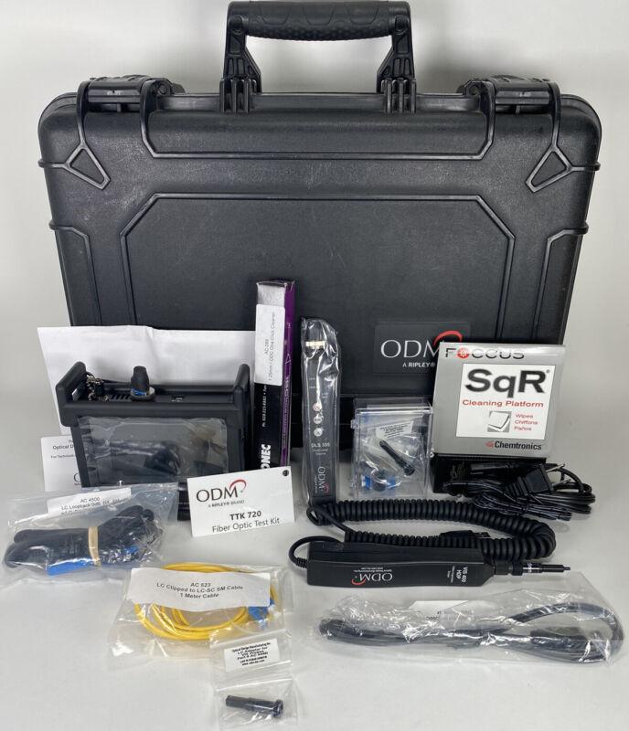 ODM TTK720 SM Fiber Optic Test Inspection Kit VIS300C VIS400 HDP DLS355 CLEAN!!!