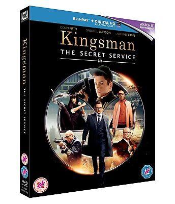 Kingsman: The Secret Service (with UltraViolet Copy) [Blu-ray]