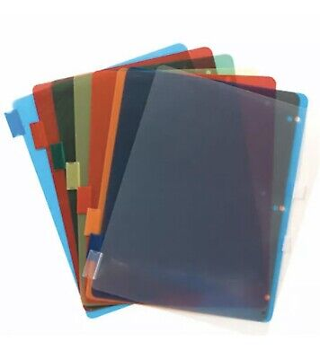 Jot Plastic Index Dividers With Tabs For 3-ring Binder- 4-packs