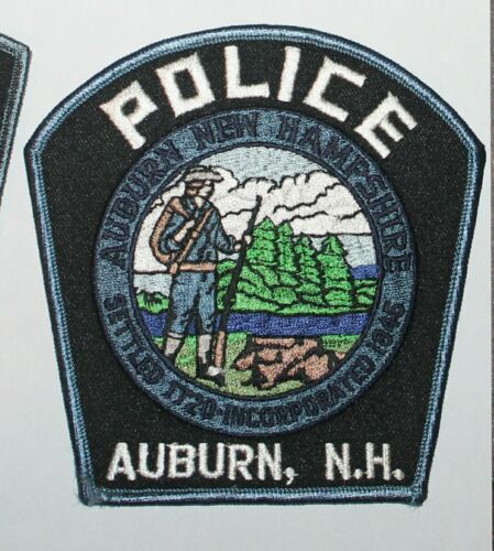 AUBURN POLICE New Hampshire NH PD patch