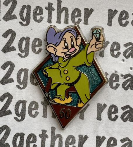 Disney Pin DLR 60th Diamond Celebration Mystery Pin Pack Dopey
