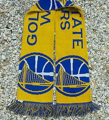 Golden State Warriors  Scarf - NBA Scarf  Gift